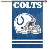 Indianapolis Colts Applique Banner Flag