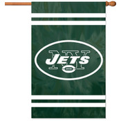 New York Jets Applique Banner Flag