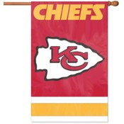 Kansas City Chiefs Applique Banner Flag