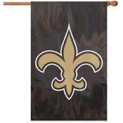 New Orleans Saints Applique Banner Flag