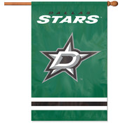 Dallas Stars Applique Banner Flag