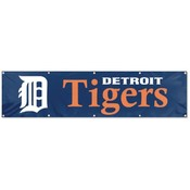 Detroit Tigers Giant 8&#39; x 2&#39; Banner