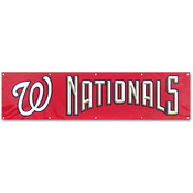Washington Nationals Giant 8&#39; x 2&#39; Banner