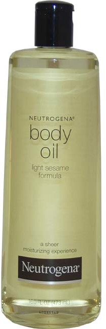 Neutrogena - Body Oil - Light Sesame Formula 16 oz