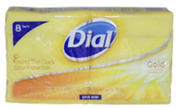 Unisex Dial Gold Antibacterial Deodorant SOAP SOAP 8 x 4 oz [1786243]