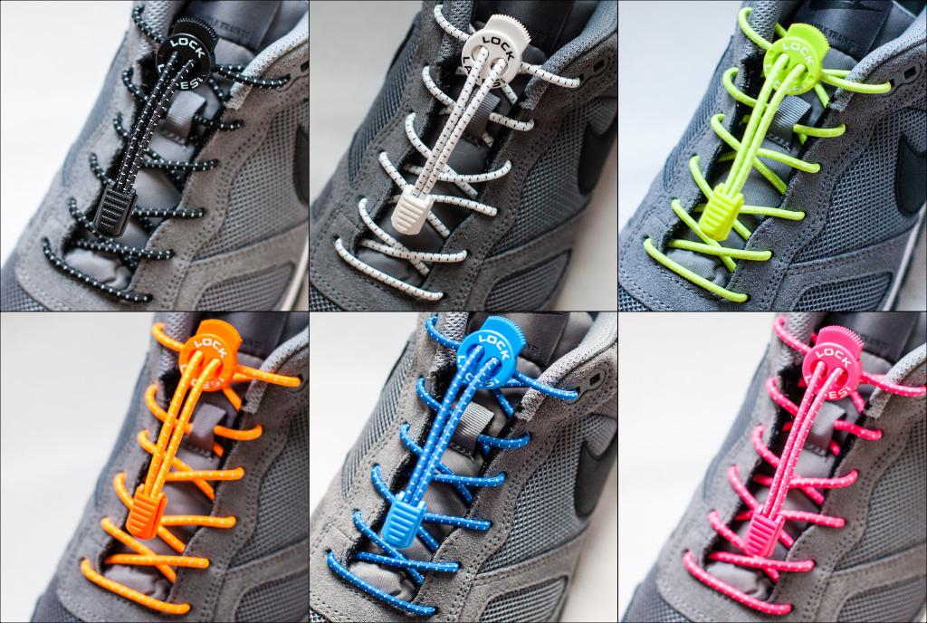 LOCK LACES? No TIE Shoe Shoelaces [1981893]