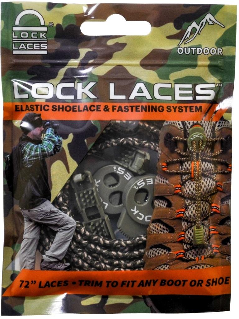 LOCK LACES? No TIE Shoelaces - Camo Print [1981468]