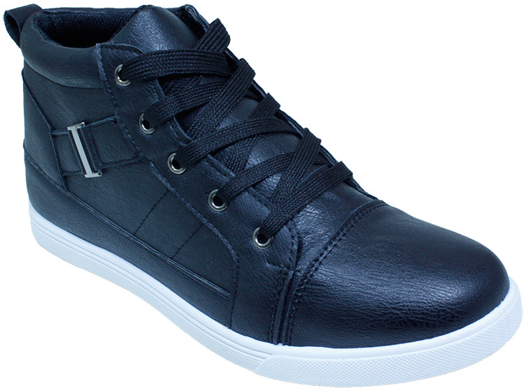 Men's High Top SNEAKERS - Black (2123011)
