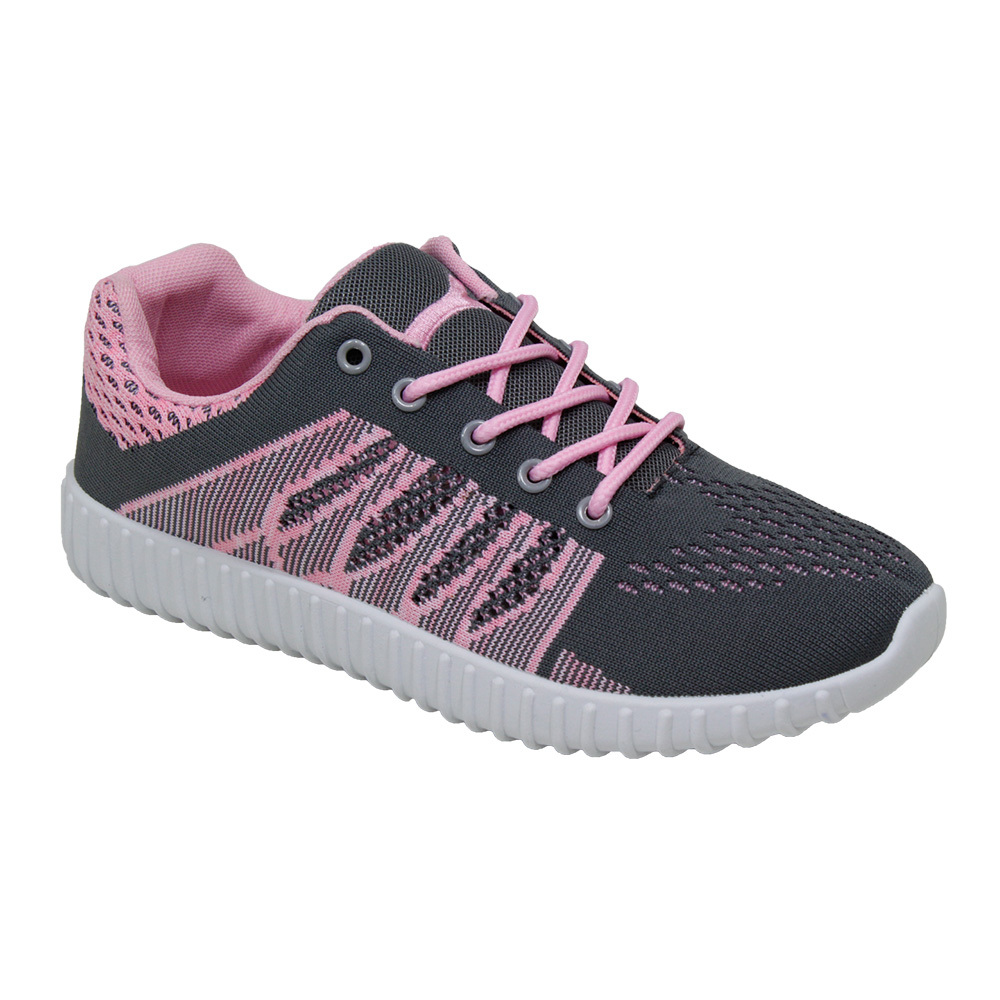 Women's Gray/Pink SNEAKERS - Sizes 6-10 [2276689]