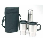 Worthy 4 Piece Stainless Steel Coffee Set