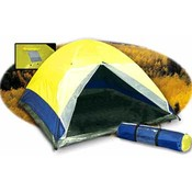 TrailWorthy Three Man Dome Tent with Rainfly