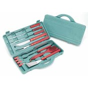 KitchenWorthy 12 Piece BBQ Tool Kit