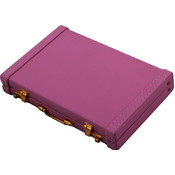 Premium Briefcase Business Card Holder Pink