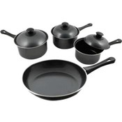KitchenWorthy 7 Piece Nonstick Cookware Set