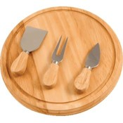 KitchenWorthy Rubberwood Board And Serving Set