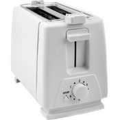 KitchenWorthy 2 Slice Toaster & Bun Warmer