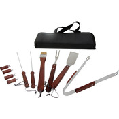 KitchenWorthy 11 Piece BBQ Tool Set Wholesale Bulk