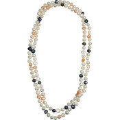 Bret Roberts Genuine 47 Inch Baroque Pearl Necklace Wholesale Bulk