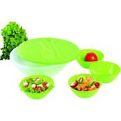 KitchenWorthy 8 Piece Salad and Serving Set