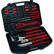 KitchenWorthy 18 Piece Deluxe BBQ Tool Set