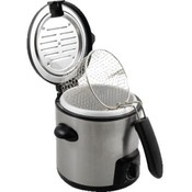 KitchenWorthy Stainless Steel Deep Fryer