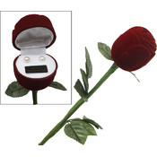 Bret Roberts Long Stem Rose With Genuine Pearl Earrings Wholesale Bulk
