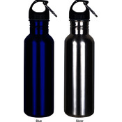 Worthy Wide-Mouth 18/8 Stainless Steel Sports Bottle - Blue