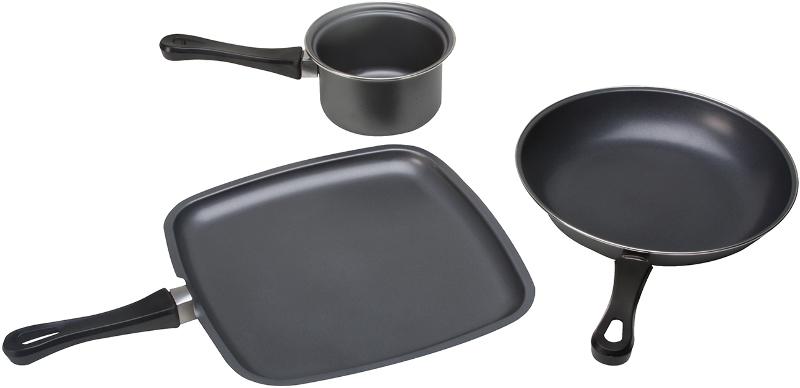 KitchenWorthy 3 Piece Non-Stick COOKWARE Set [1333861]