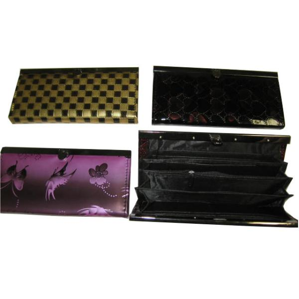 Ladies CLUTCH purse Wallet With Many Compartments (670675)