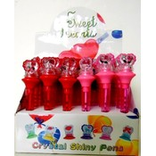 light up heart pen in display Wholesale Bulk