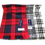 Men's Plaid Winter Scarves