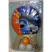 Table Tennis Paddles w/ Balls