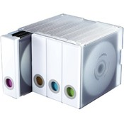 Atlantic - 96-Disc Album Cube (White) Wholesale Bulk