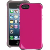 Iphone 5 Aspira Case Pink/Chrcl