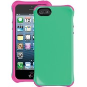 Iphone 5 Aspira Case Green/Pink