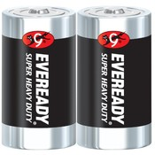 Energizer 2 Pack  D Heavy Duty Battery