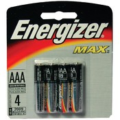 Energizer - Long-Life Alkaline Batteries (AAA; 4 pack) Wholesale Bulk