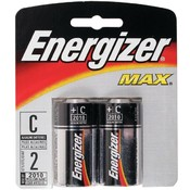 2 PK 'C' ENERGIZER BATTERIES Wholesale Bulk