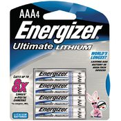 Energizer E2 Lithium - Lithium Photo Batteries (AAA; 4 pack) Wholesale Bulk