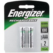 Energizer - Rechargeable NiMH Batteries (AAA 2 pack; 850mAh) Wholesale Bulk