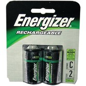 Energizer - Rechargeable NiMH Batteries (C 2 pack; 2,500mAh) Wholesale Bulk