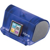 Blue Portable Mp3 Spkr