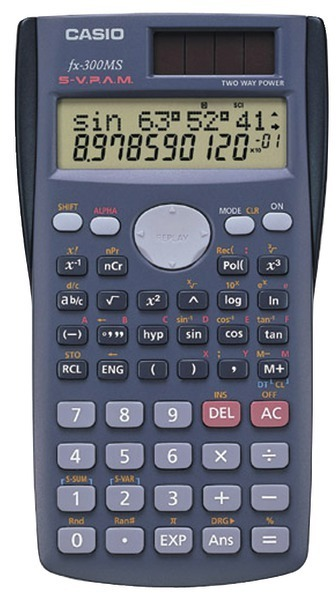 CASIO - Scientific Calculator with 240 Built-In Functions (391143)