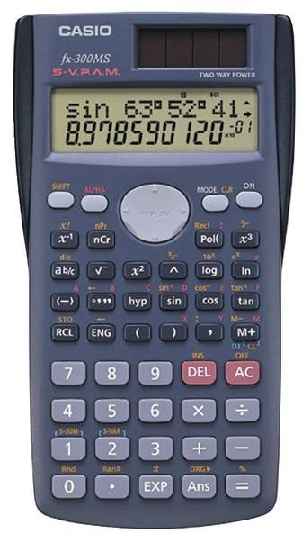CASIO - Scientific Calculator with 240 Built-In Functions [391143]
