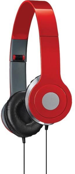 iLive Iah54R On-Ear Headphones (Red) [2174374]