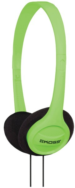 Koss 190478 Kph7 On-Ear Headphones (Green) [2175074]