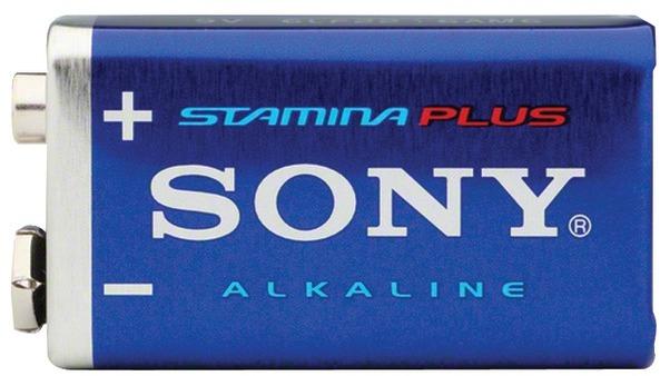 Sony S-6Am6B1A Stamina(R) Plus Alkaline BATTERIES (9V; Single) [2178776]