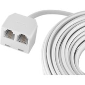 Ge Dual Jack Cord 25Ft Wholesale Bulk