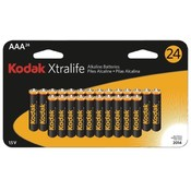 Kodak - Xtralife? Alkaline Batteries (AAA; 24 pack) Wholesale Bulk