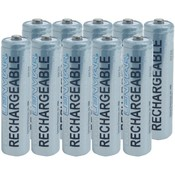 AAA 1,000mAh NiMH Batteries, 10 pack Wholesale Bulk